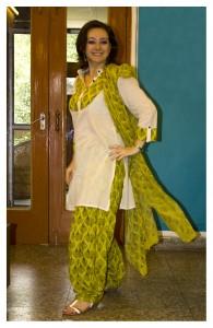 Abiti indiani, kurta con pantalone patiala