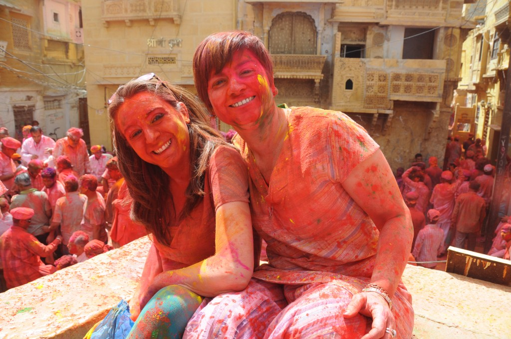 Holi, la festa dei colori in India